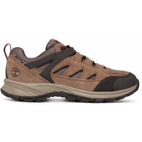 Timberland Sadler Pass F/L Low GTX Shoes Men Light Brown Suede/Mesh